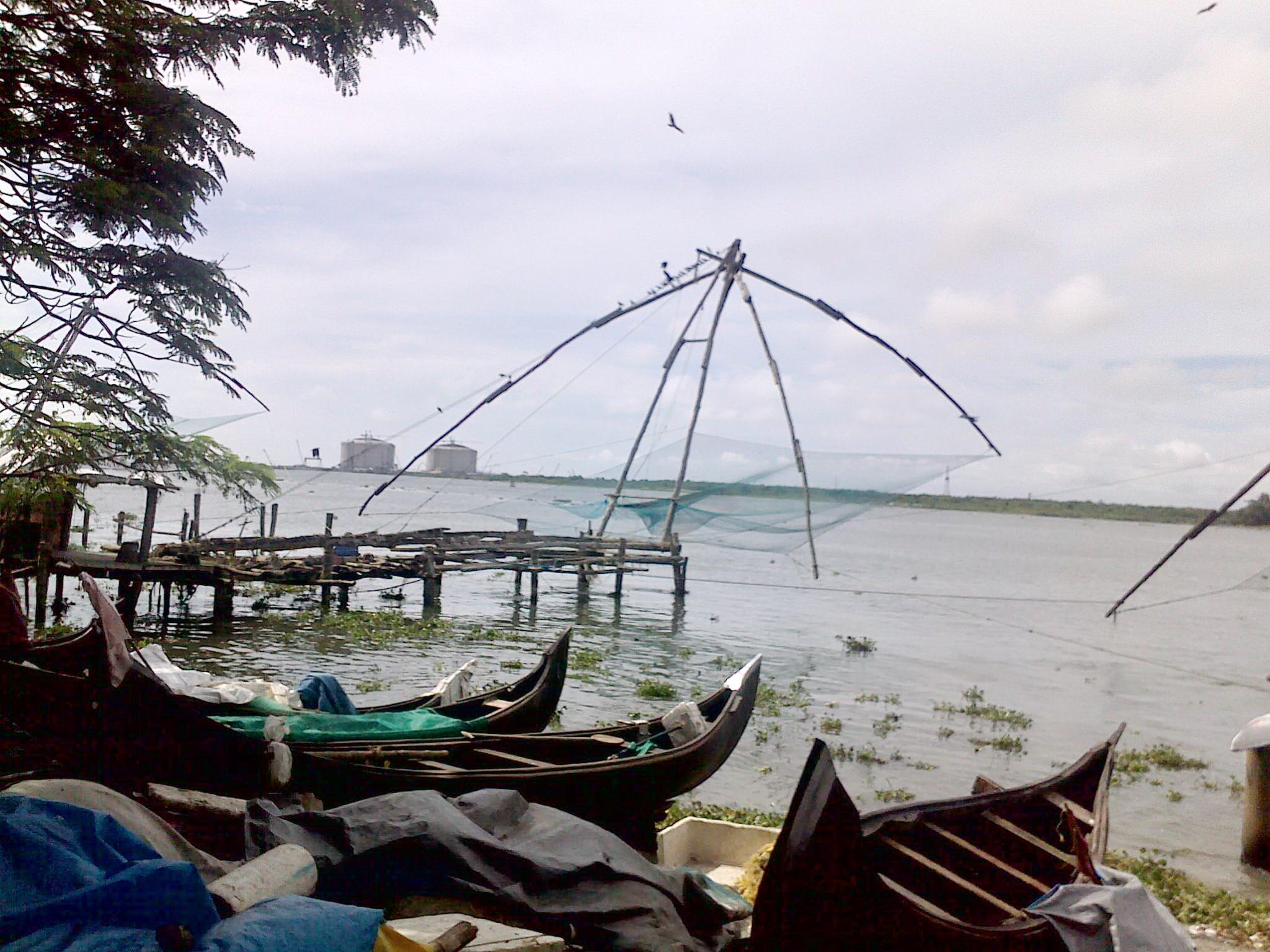 cochin-harbour-fishing-village