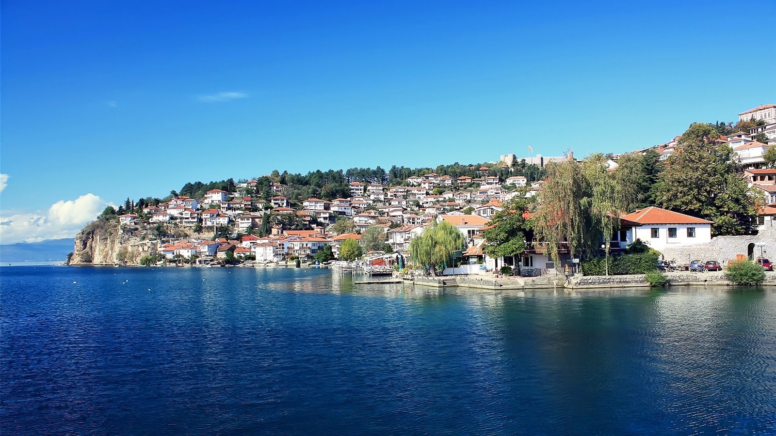 Ohrid Macedonia Balkans eastern europe beaches landscape