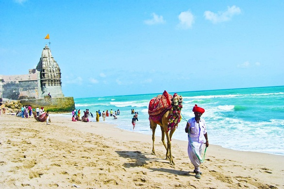 Gujarat-Beaches-Dwaraka-Beach