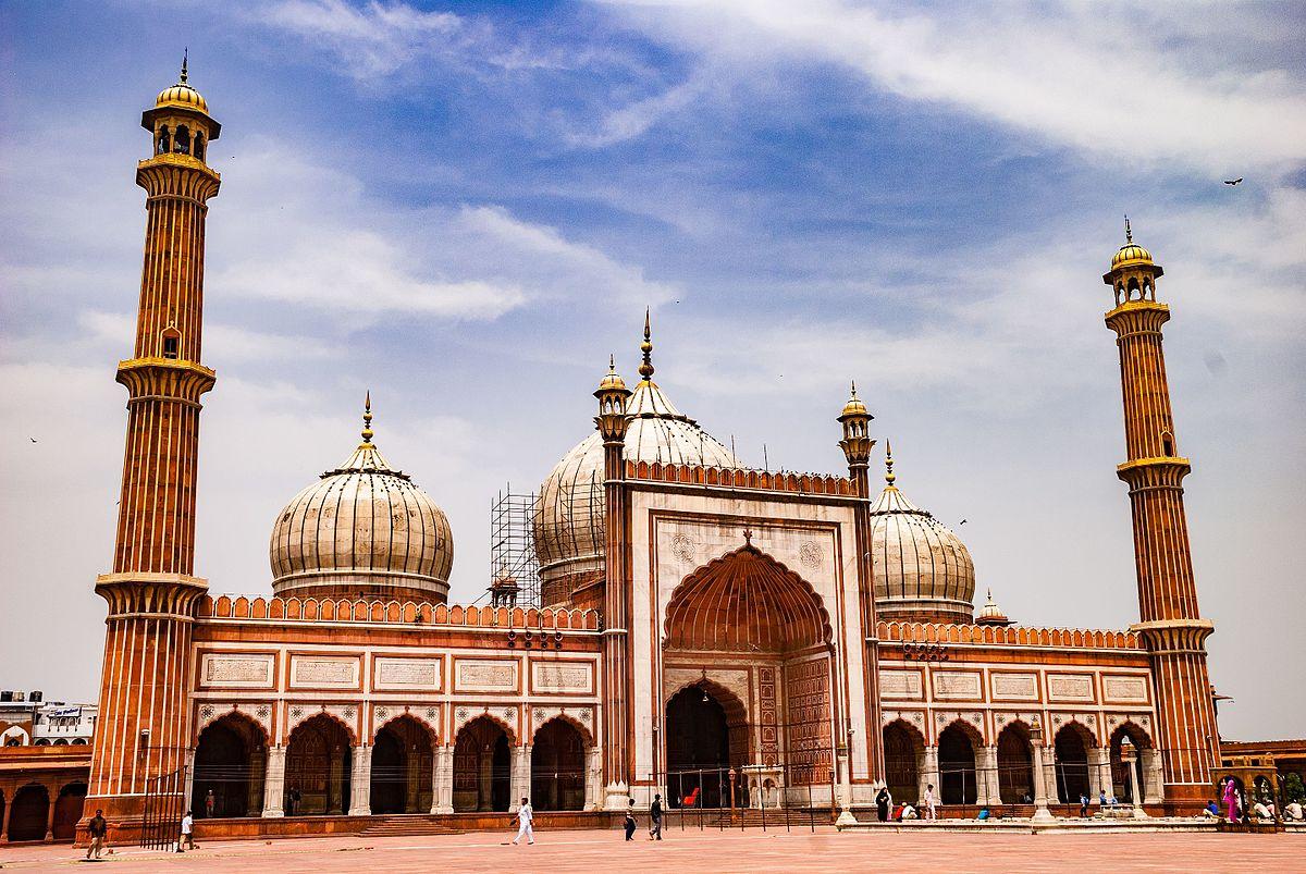 Jama_Masjid_-_In_the_Noon