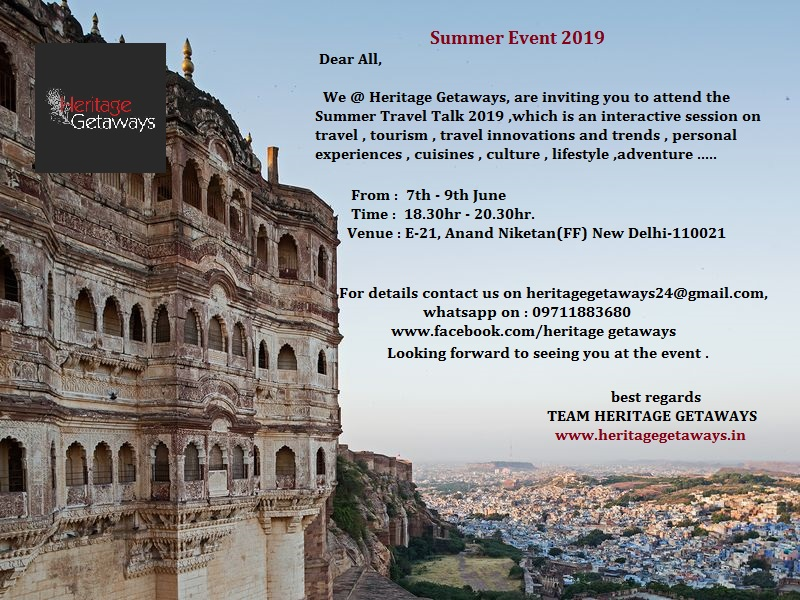 Do  join in for the Summer Travel Talk Event 2019 !